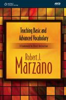 Teaching Basic and Advanced Vocabulary: A Framework for Direct Instruction 1424067138 Book Cover