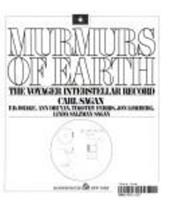 Murmurs of Earth: The Voyager Interstellar Record 0394410475 Book Cover
