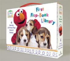Elmo's World: First Flap-Book Library 0375845127 Book Cover