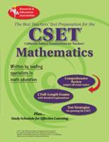 CA CSET Math 7-12 (REA) - The Best Teachers' Test Prep for the Cset 0738601802 Book Cover