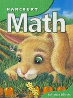 Harcourt Math: California Edition 0153155116 Book Cover