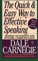 The Quick and Easy Way to Effective Speaking 067145014X Book Cover