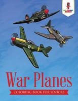 War Planes: Coloring Book for Seniors 0228205700 Book Cover