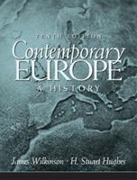 Contemporary Europe: A History 0131700278 Book Cover