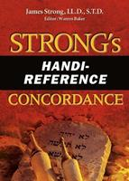 Strong's Handi-Reference Concordance 0899571190 Book Cover