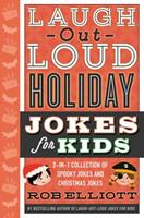 Laugh-Out-Loud Spooky and Christmas Bind-up 0062569767 Book Cover